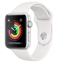 Apple Watch 3 GPS 38mm Silver Aluminum Case With White Sport Band